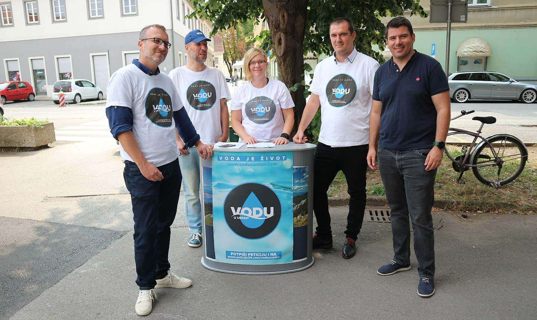 Peticija MOST-a: Želimo vodu u Ustav, potpisivanje i u Karlovcu