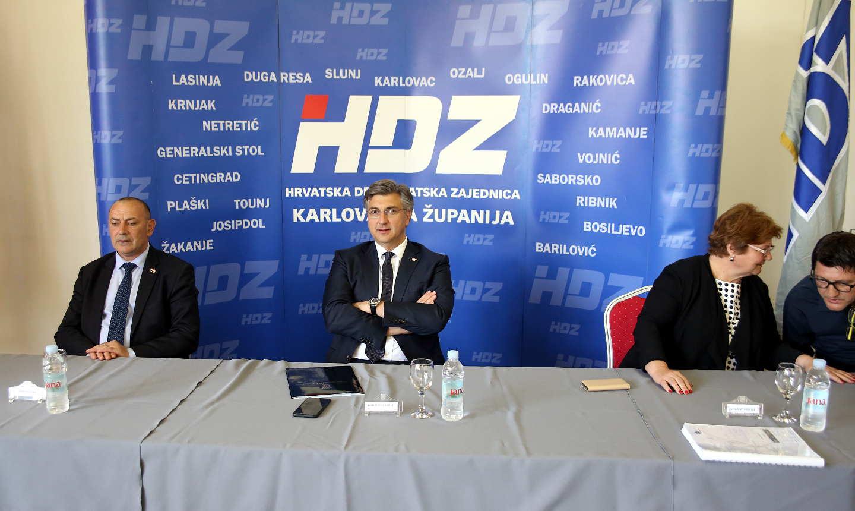 HDZ pobijedio diljem Karlovačke županije, osim u Kamanju i Plaškom